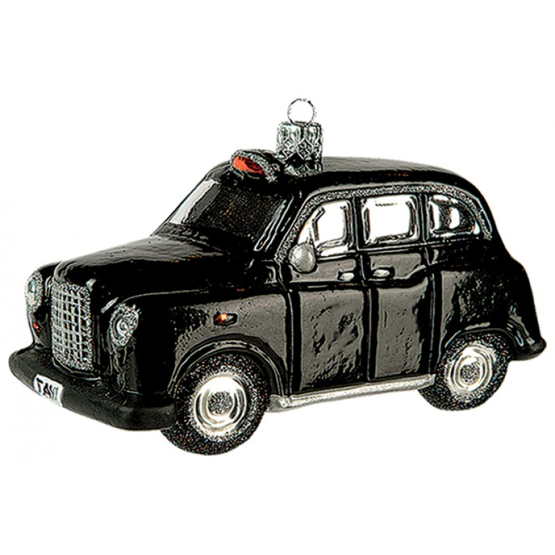 christbaumschmuck figur london taxi. Black Bedroom Furniture Sets. Home Design Ideas