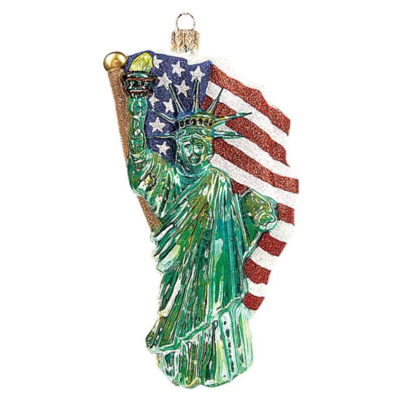 christbaumschmuck freiheitsstatue lady of liberty. Black Bedroom Furniture Sets. Home Design Ideas
