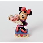 Jim Shore Disney Tradition My Love Minnie Mouse