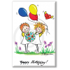 Motiv-Magnet von H. Brosien Happy Birthday