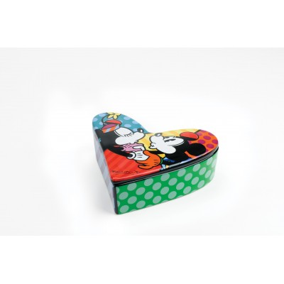 Romero Britto Mickey & Minnie Schmuckbox