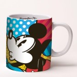Romero Britto Mickey & Minnie Becher
